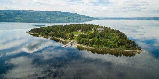Utøya fotograferad den 31 maj 2017. Meek, Tore / TT NYHETSBYRÅN