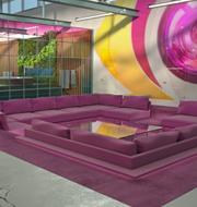 Huset där Big Brother spelas in.  Meter/TV4