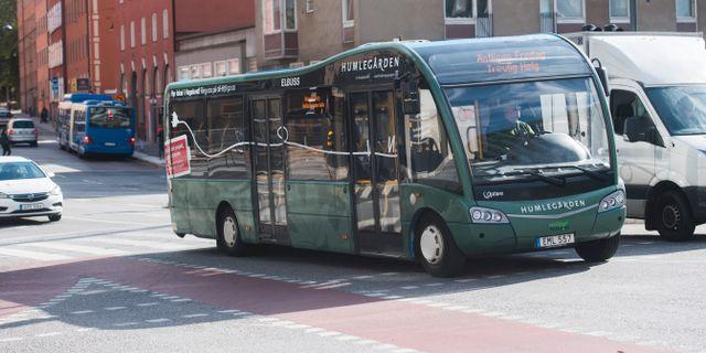 Arkivbild. Elbuss i Stockholm. Fredrik Sandberg/TT / TT NYHETSBYRÅN