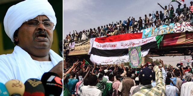Salah Gosh/protesterna i Sudan. TT