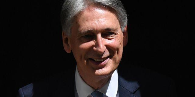 Philip Hammond avgår BEN STANSALL / AFP