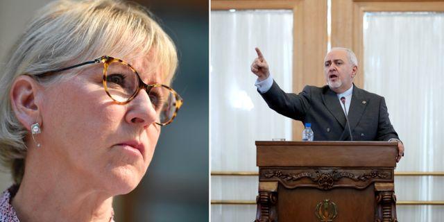 Wallström, Zarif. Arkivbilder.  TT