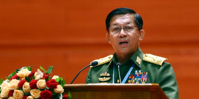 Min Aung Hlaing. Aung Shine Oo / TT NYHETSBYRÅN/ NTB Scanpix