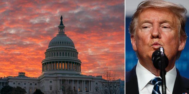 Kongressen/Donald Trump. TT