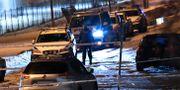 En person har hittats skottskadad i Norsborg, söder om Stockholm. Fredrik Sandberg/TT / TT NYHETSBYRÅN