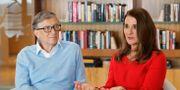 Bill Gates med hustrun Melinda Gates. Ted S. Warren / TT NYHETSBYRÅN