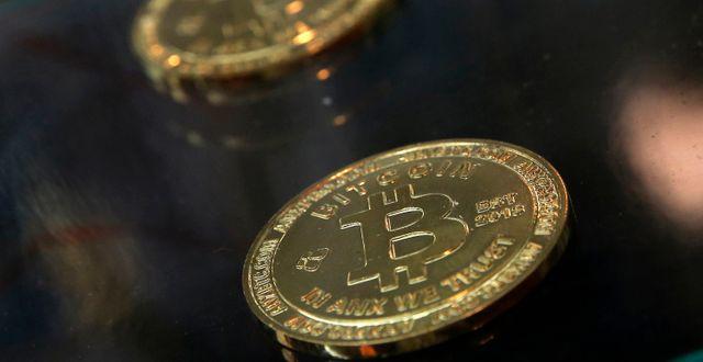 Bitcoin. Arkivbild. Kin Cheung / TT NYHETSBYRÅN