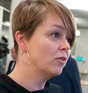 Kommunstyrelsens ordförande i Malmö, Katrin Stjernfeldt Jammeh (S). Johan Nilsson/TT / TT NYHETSBYRÅN