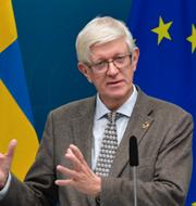 Johan Carlson, Folkhälsomyndigheten.  TT.