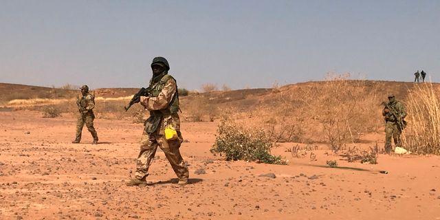 Arkivbild: Soldater från Nigers armé Aaron Ross / TT NYHETSBYRÅN