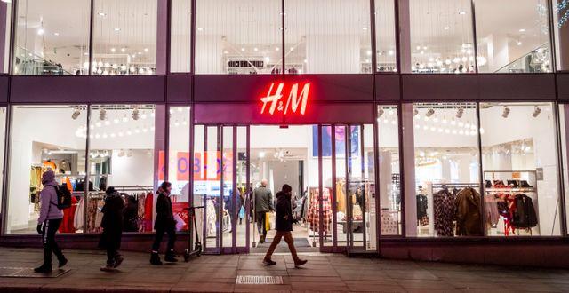 Butiken på bilden har inte med nyheten att göra. Håkon Mosvold Larsen / TT NYHETSBYRÅN