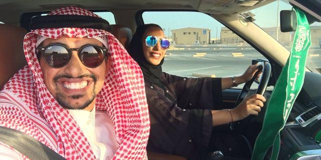 Faisal BaDughaish och hans fru. Privat/Twitter