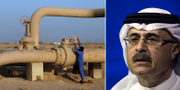 Amin Nasser är vd och ordförande för Aramco. TT.
