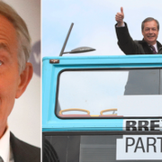 Tony Blair/Nigel Farage. TT