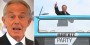 Tony Blair/Nigel Farage. TT