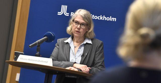 Maria Rotzén Östlund Claudio Bresciani/TT / TT NYHETSBYRÅN
