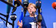 Angela Merkel. Geert Vanden Wijngaert / TT / NTB Scanpix