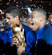Frankrike firar VM-guldet 2018. CHARLES PLATIAU / BILDBYRÅN