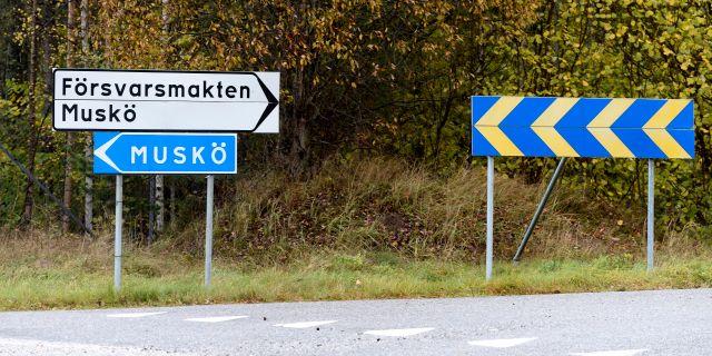 Muskö i Haninge kommun. PONTUS LUNDAHL / TT / TT NYHETSBYRÅN