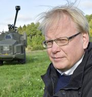 Försvarsminister Peter Hultqvist (S). TT