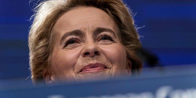 Ursula von der Leyen KENZO TRIBOUILLARD / AFP