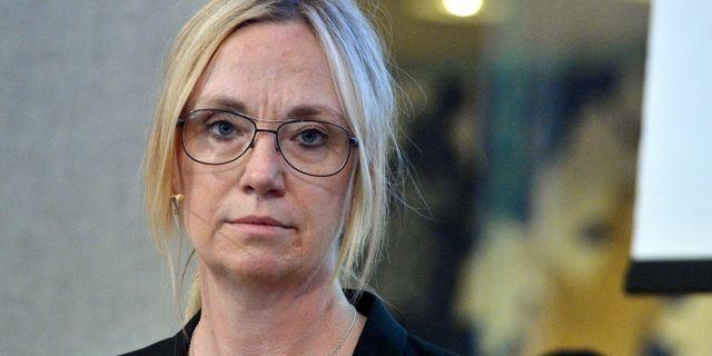 Christina Nyman är prognoschef på Handelsbanken sedan ett år tillbaka.  Bertil Ericson/TT / TT NYHETSBYRÅN