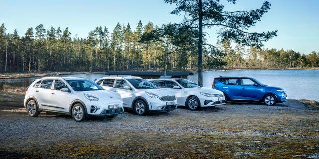 En målmedveten satsning på elektrifierade bilmodeller har gett resultat för Kia. KIA