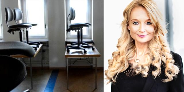 Jessica Eriksson, dekan för lärarutbildningsnämnden vid Karlstads universitet. Karlstads universitet/TT