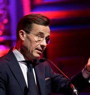 Moderatledaren Ulf Kristersson.  Janerik Henriksson/TT / TT NYHETSBYRÅN