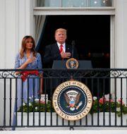 Donald och Melania Trump. Alex Brandon / TT NYHETSBYRÅN