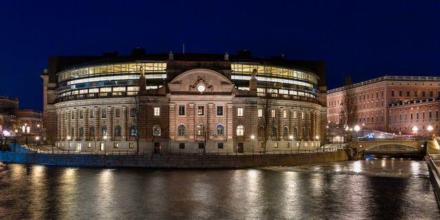 Riksdagshuset.  Jonas Ekströmer/TT / TT NYHETSBYRÅN