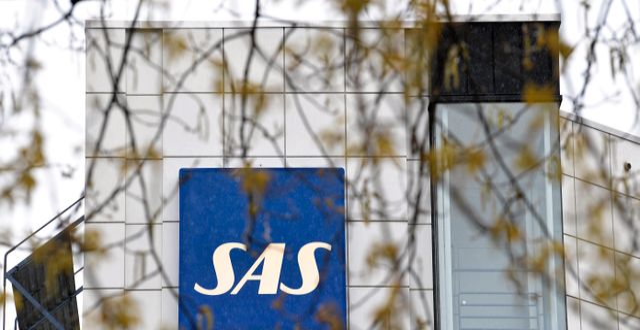 SAS huvudkontor i Solna. Pontus Lundahl/TT / TT NYHETSBYRÅN