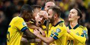 Svenska landslaget i en match i november. JOEL MARKLUND / BILDBYRÅN