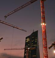 ECB:s huvudkontor.  Arne Dedert / TT NYHETSBYRÅN
