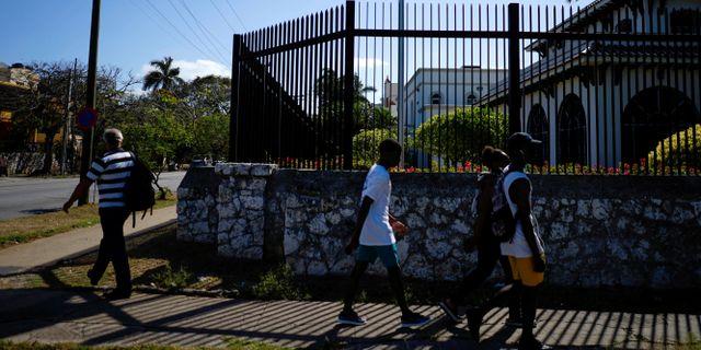 Kanadas ambassad i Havana. Alexandre Meneghini / TT NYHETSBYRÅN