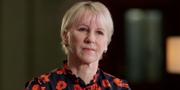 Margot Wallström (S) frågas ut i SVT:s Agenda. SVT