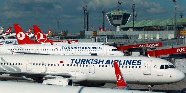 Skottlossning pa turkisk flygplats