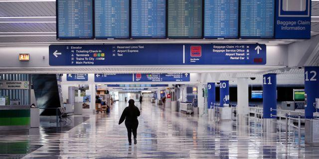 Chicagos flygplats.  SCOTT OLSON / TT NYHETSBYRÅN