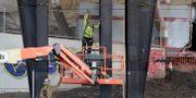 Arkivbild: Byggnadsarbetare i New Jersey, USA. Julio Cortez / TT NYHETSBYRÅN