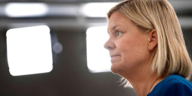 Magdalena Andersson.  Jessica Gow/TT / TT NYHETSBYRÅN