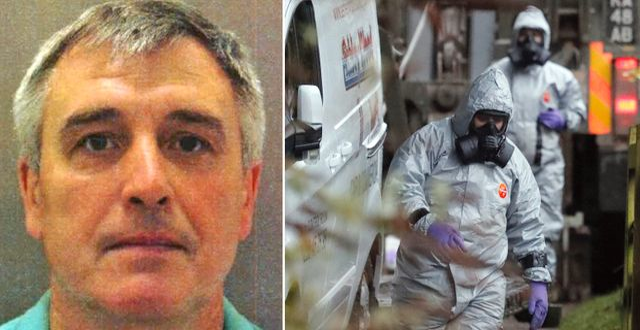 Denis Sergeev/polisen under insatsen i Salisbury. Londonpolisen/TT