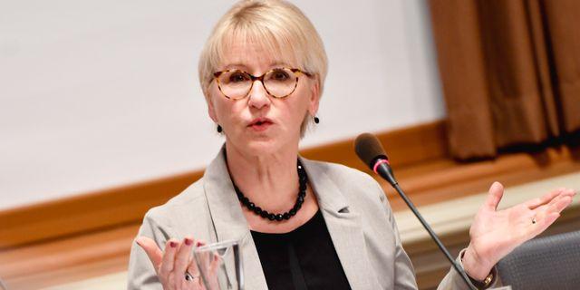 Margot Wallström (S). Arkivbild. Naina Helén Jåma/TT / TT NYHETSBYRÅN
