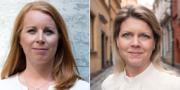 Annie Lööf och Sofia Jarl TT