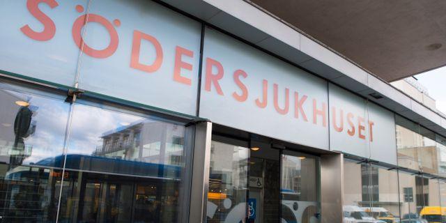 Södersjukhuset. Erik Nylander/TT / TT NYHETSBYRÅN
