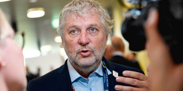 Peter Eriksson. Stina Stjernkvist/TT / TT NYHETSBYRÅN