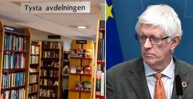 Illustrationsbild, Folkhälsomyndighetens generaldirektör Johan Carlson. TT