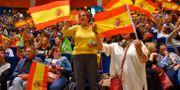 Vox-supportrar. ANDER GILLENEA / AFP