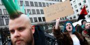 Antirasistisk demonstration på Norrmalmstorg i Stockholm. Fredrik Persson/TT / TT NYHETSBYRÅN