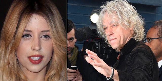 Peaches och Bob Geldof.  TT