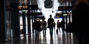 Anonyma flygresenärer på Stockholm Arlanda Airport. Fredrik Sandberg/TT / TT NYHETSBYRÅN